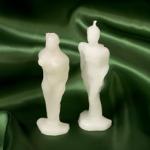 Coppia Statue Piccole Bianche